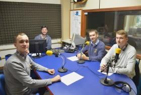 Radio interview in Brazil